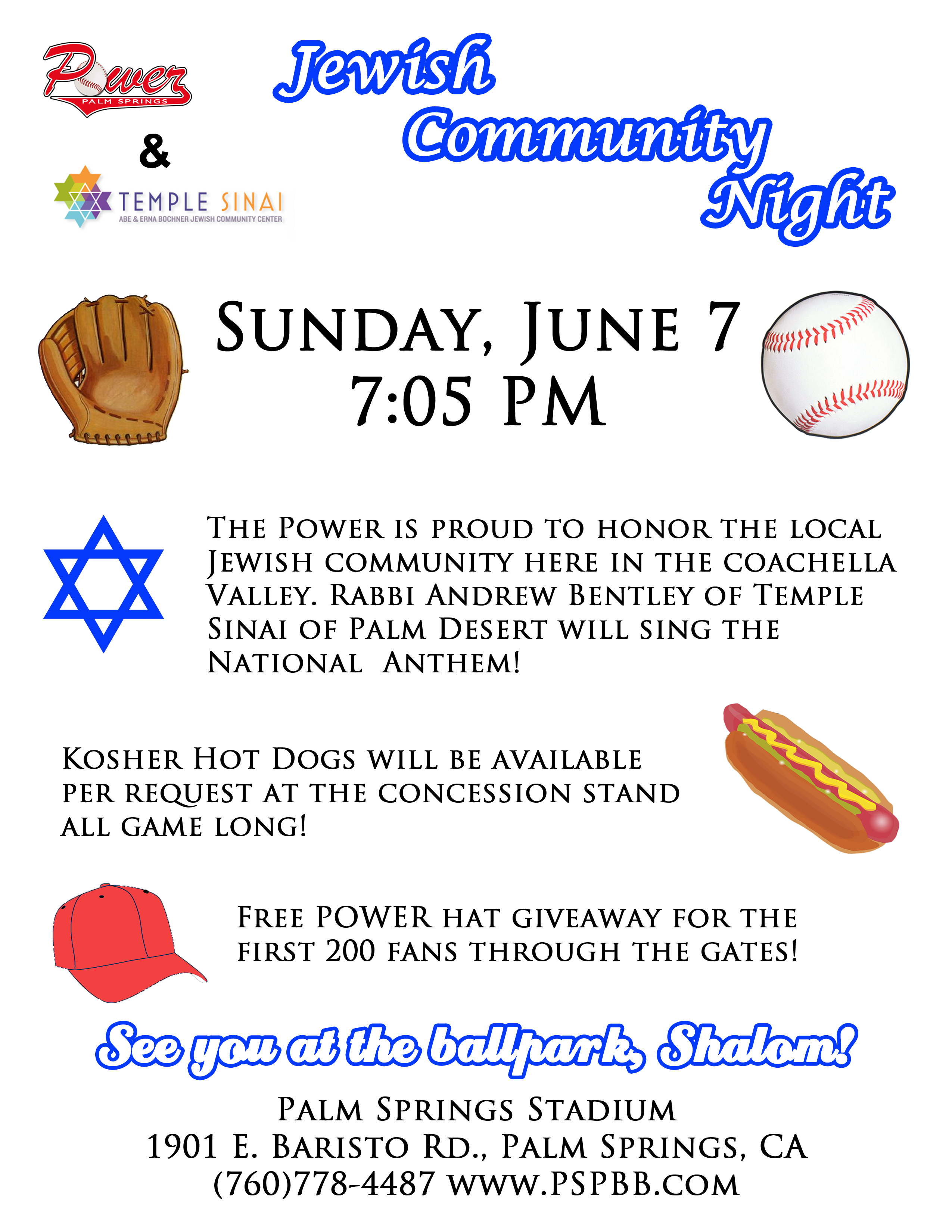 Jewish Community Night