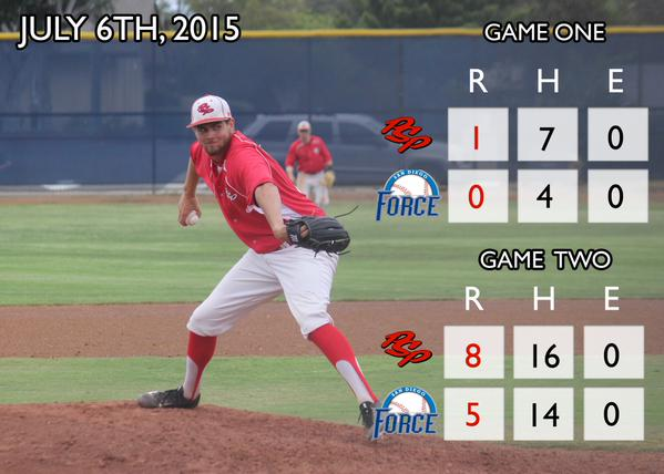 POWER sweep SD Force to take SCCBL lead