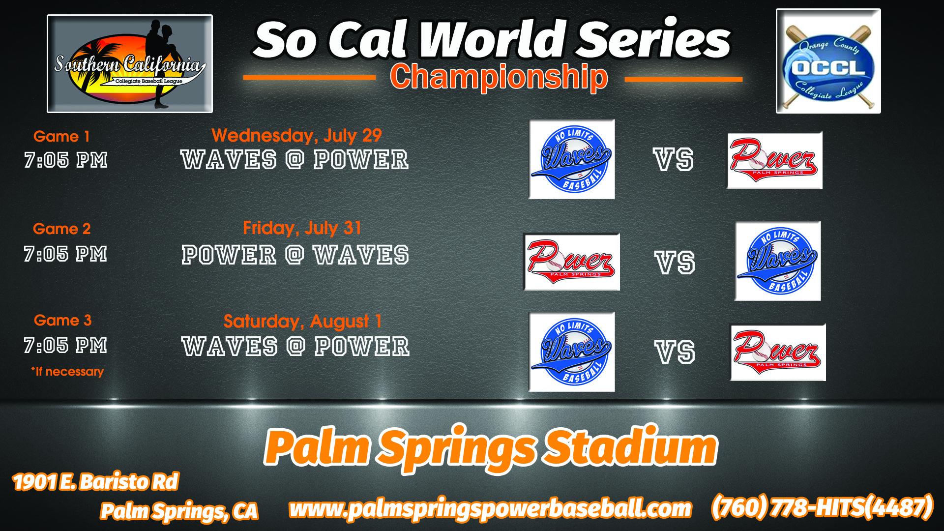 So Cal World Series