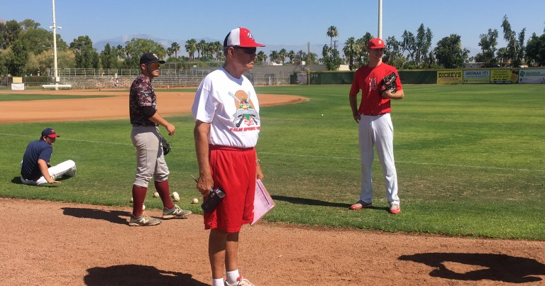 Palm Springs POWER Hold College Baseball Prospect Workout