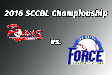 2016 SCCBL Championship Series Game One Information