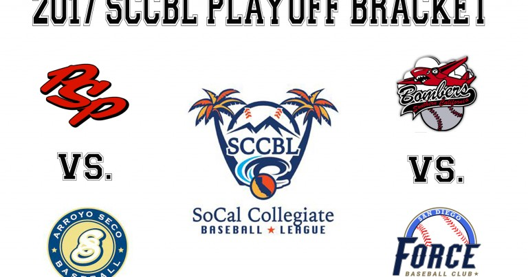 SCCBL PLAYOFF INFO FOR POWER BASEBALL