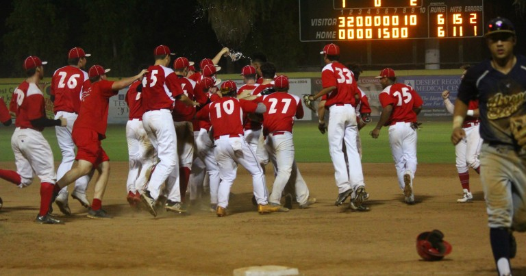 POWER WALK-OFF VICTORY ELIMINATES SENTINELS, WILL FACE FORCE IN SCCBL CHAMPIONSHIP