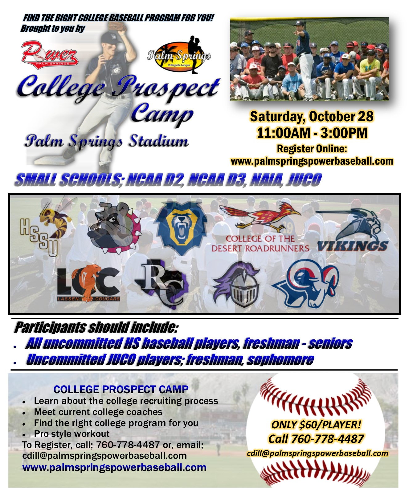 college prospect camp